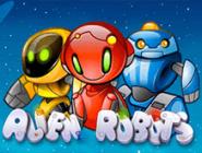 Играть бесплатно в автомат Alien Robots